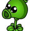 How to Draw Peashooter, Chibi