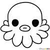 How to Draw Octopus, Chibi