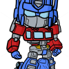 How to Draw Optimus Prime, Chibi