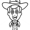 How to Draw Sheriff Woody, Chibi