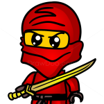 How to Draw Lego Ninja, Chibi