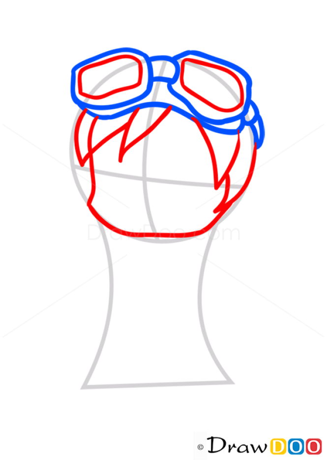 How to Draw Natsu, Chibi