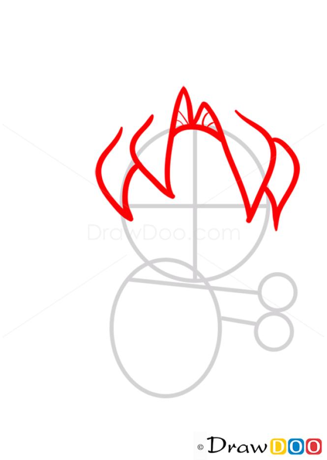 How to Draw Goku from DBZ, Chibi