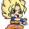 How to Draw Goku from DBZ, Chibi