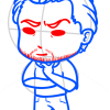 How to Draw Leo Dicaprio, Chibi