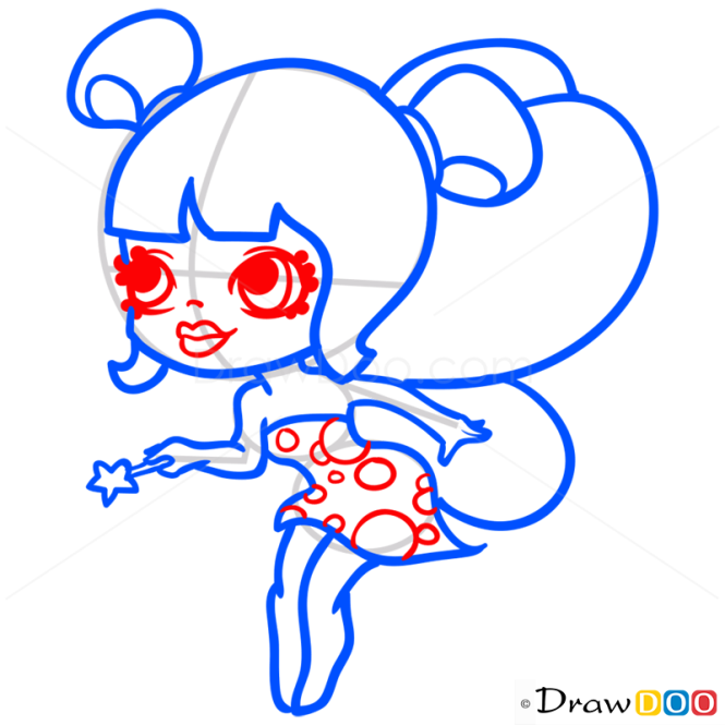 How to Draw Fairy, Chibi