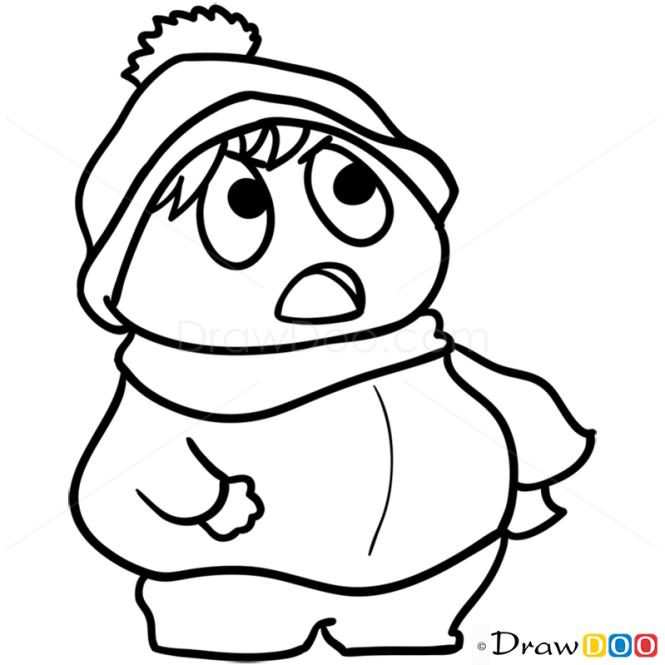 How to Draw Cartman, Chibi