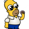 How to Draw Homer Simpson, Chibi
