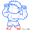 How to Draw Hulk, Chibi