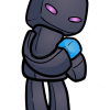 How to Draw Enderman, Chibi Minecraft