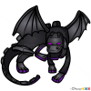 How to Draw Ender Dragon, Chibi Minecraft