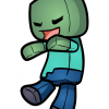 How to Draw Zombie, Chibi Minecraft