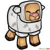 How to Draw Sheep, Chibi Minecraft