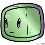 How to Draw Slime, Chibi Minecraft