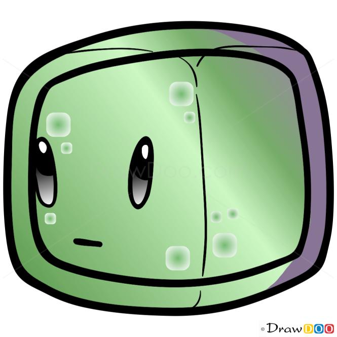 chibi slime boy