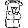 How To Draw Witch Chibi Minecraft