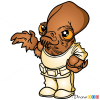 How to Draw Ackbar, Chibi Star Wars