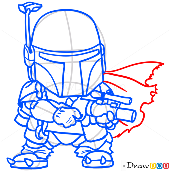 How To Draw Boba Chibi Star Wars December 11