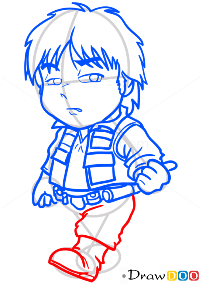 How to Draw Han Solo, Chibi Star Wars