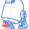 How to Draw R2-D2, Chibi Star Wars