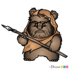 How to Draw Wicket, Chibi Star Wars