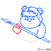 How to Draw Wicket, Chibi Star Wars