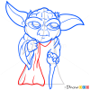How to Draw Yoda, Chibi Star Wars
