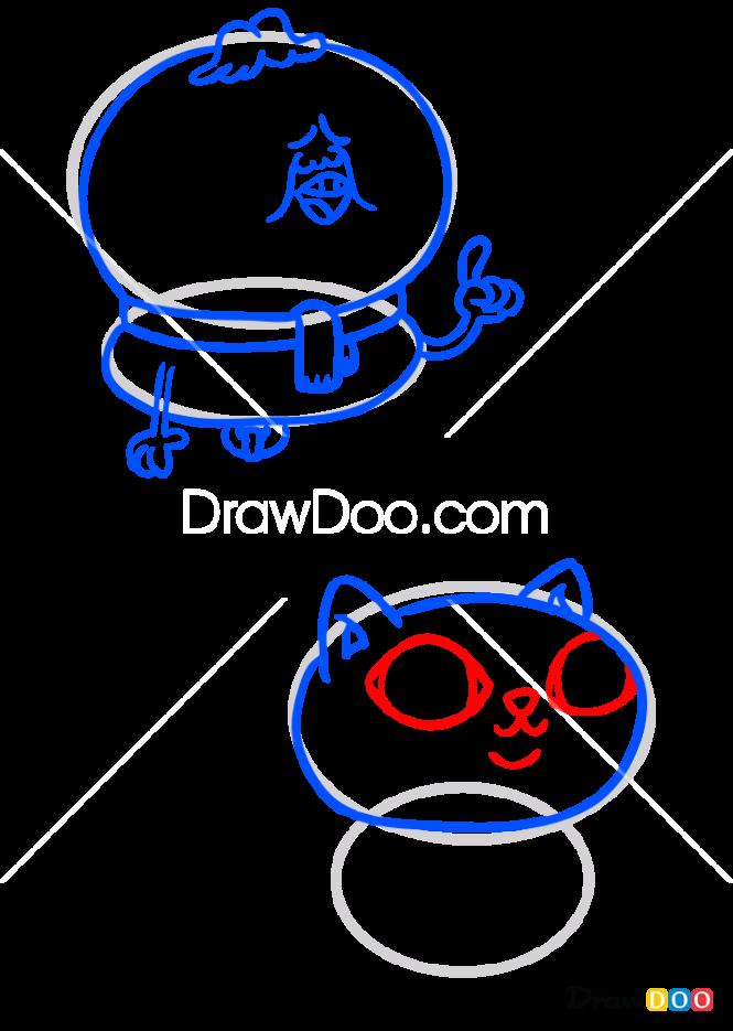 How to Draw Mr. Fugu, Chowder