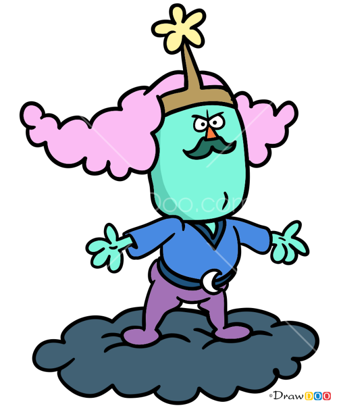 How to Draw King of The Sky, Chowder