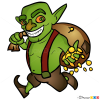 How to Draw Goblin, Clash of Clans