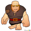 How to Draw Giant, Clash of Clans