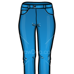 How to Draw Jeans, Clothes
