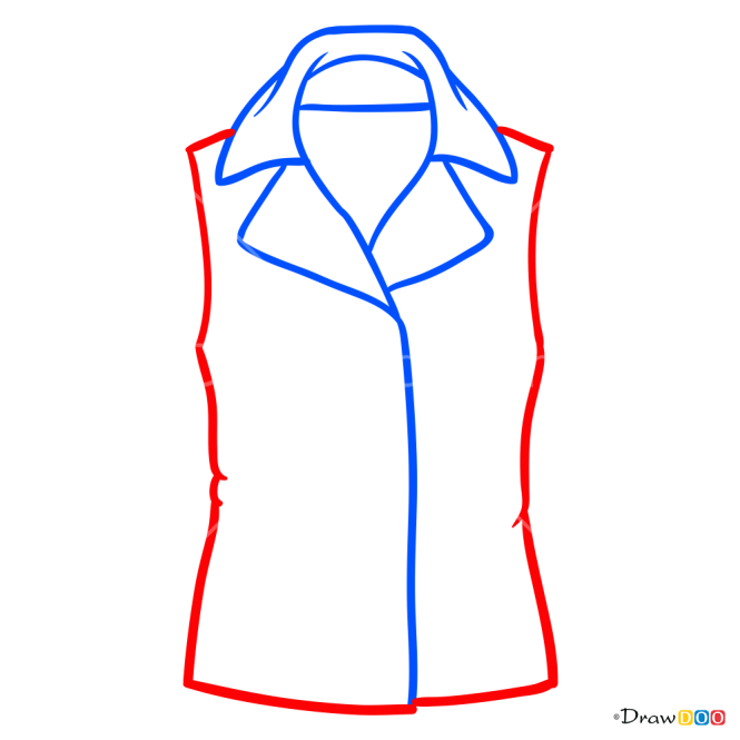 How to Draw Coat, Clothes
