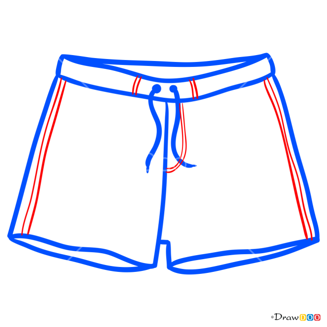 How to Draw Shorts, Clothes
