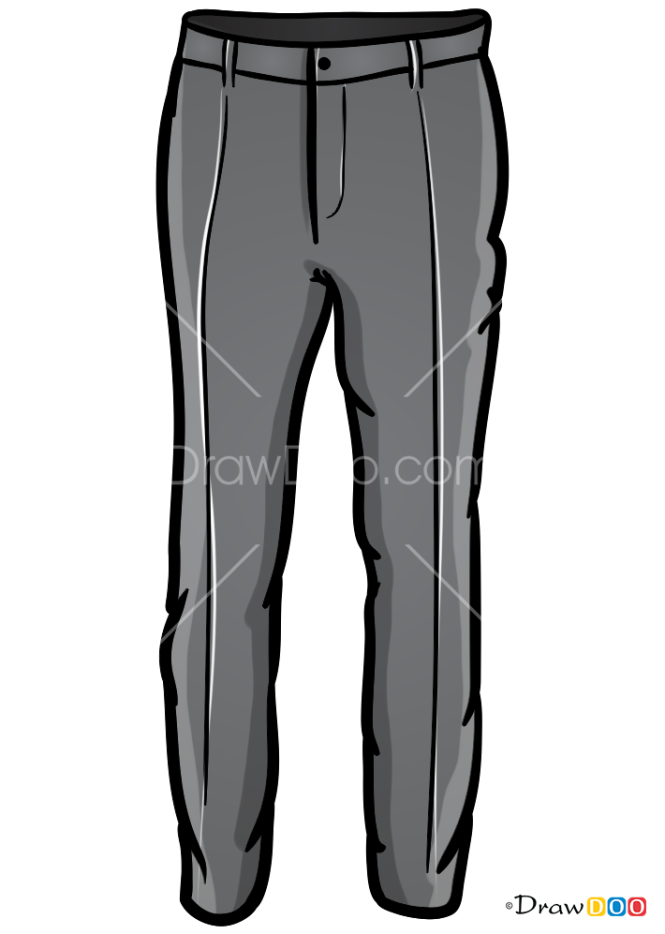 How to Draw Pants, Clothes