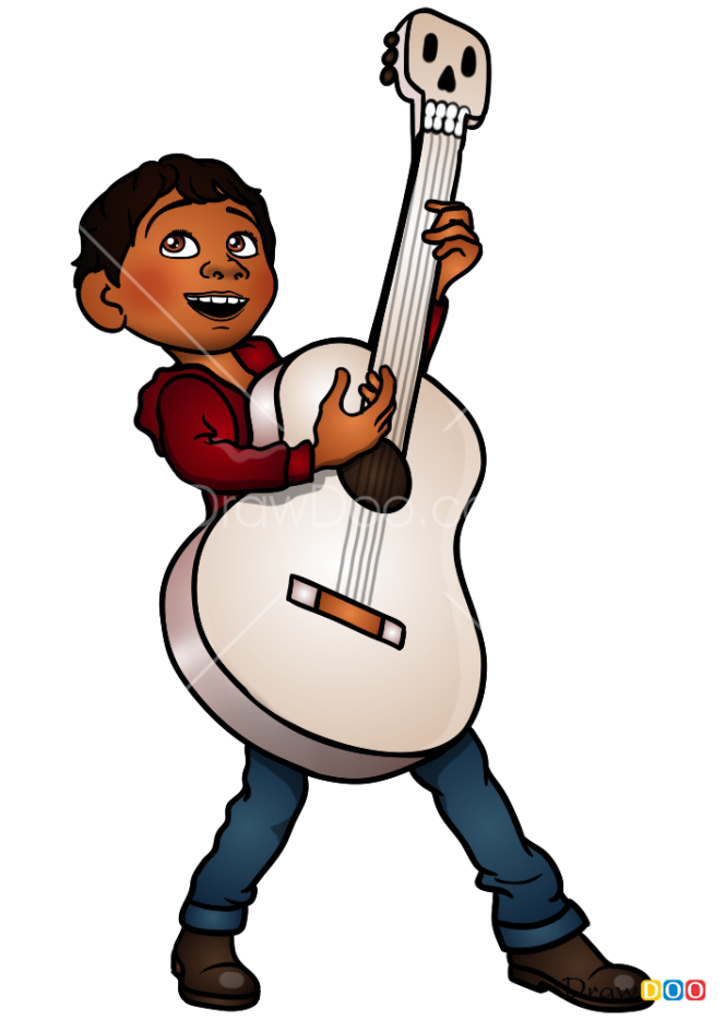 How to Draw Miguel, Coco