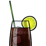 How to Draw Long Island, Coctails