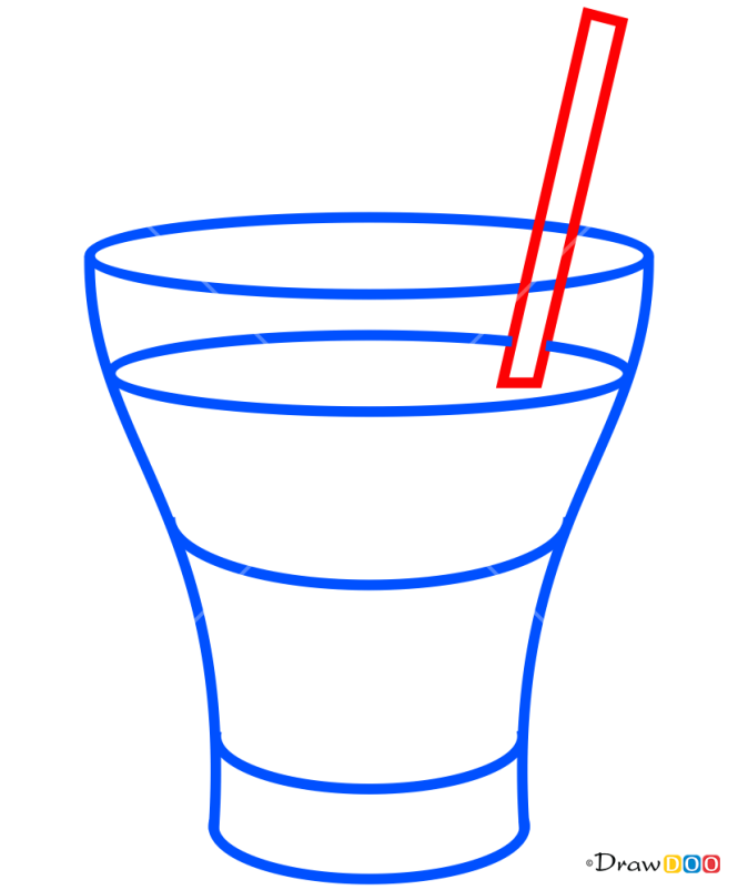 How to Draw B-52, Coctails