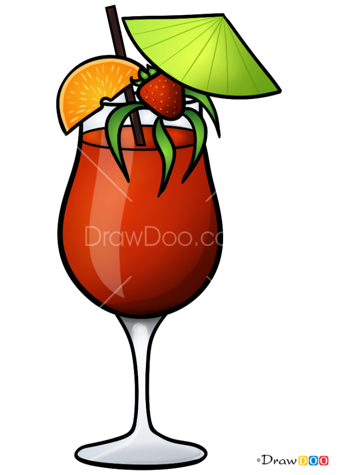 How to Draw Hurricane, Coctails