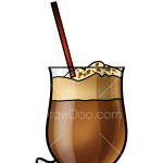 How to Draw Irish Coffee, Coctails