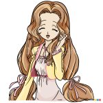 How to Draw Nunnally vi Britania, Code Geass