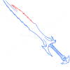 How to Draw Combat Dagger, Cold Arms