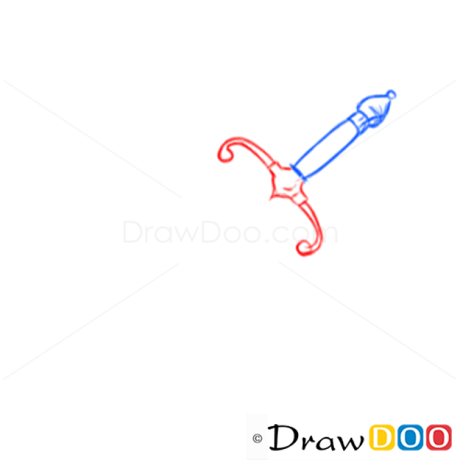 How to Draw Dagger, Cold Arms