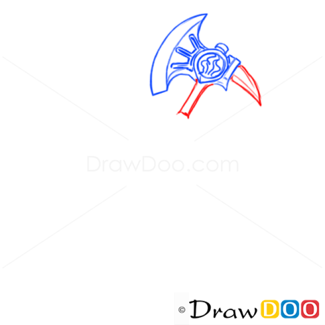 How to Draw War Axe, Cold Arms