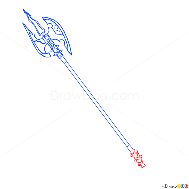 How to Draw Evil Axe, Cold Arms