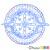 How to Draw Guard Shield, Cold Arms