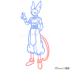 How to Draw Beerus, Dragon Ball Z