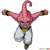 How to Draw Buu, Dragon Ball Z