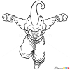 How to draw buu dragon ball z