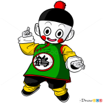 How to Draw Chiaotzu, Dragon Ball Z